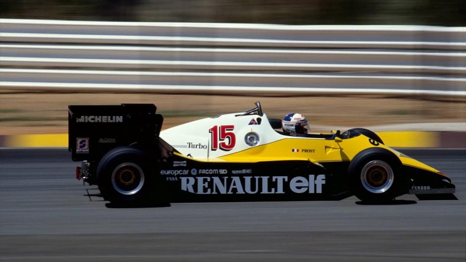 Alain Prost, Renault, Kyalami, 1983