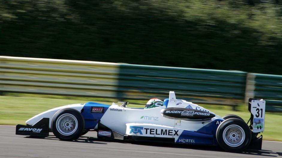Sergio Perez, T-Sport, British F3, 2007