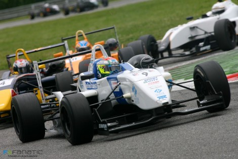 Sergio Perez, T-Sport, British F3, Monza, 2007
