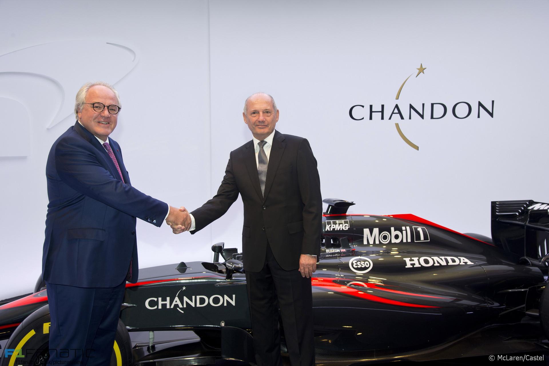 Christophe Navarre, Ron Dennis, McLaren, 2015