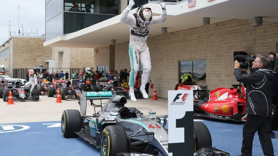 Lewis Hamilton, Mercedes, Circuit of the Americas, 2015