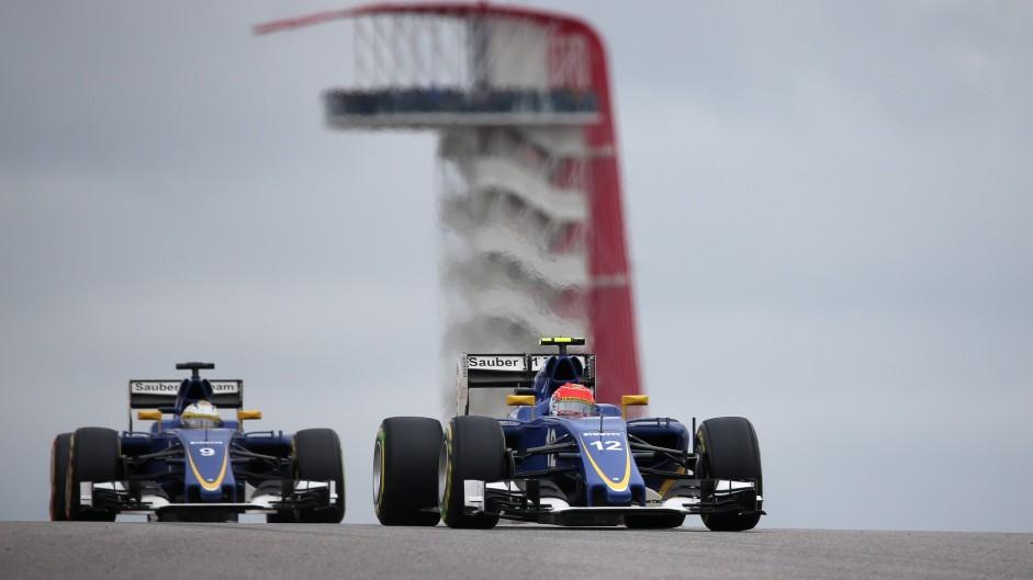 Felipe Nasr, Sauber, Circuit of the Americas, 2015