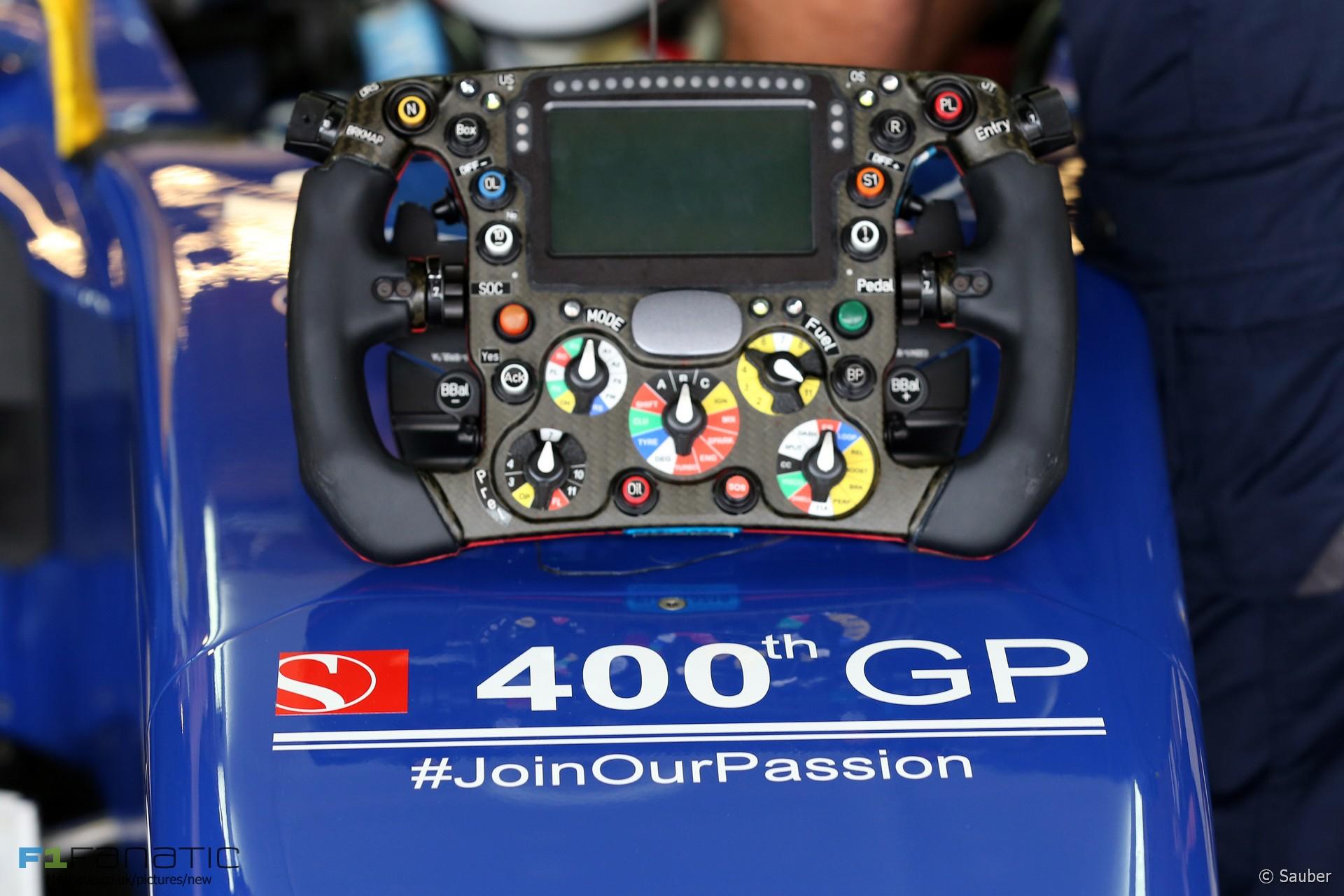 Sauber, Circuit of the Americas, 2015