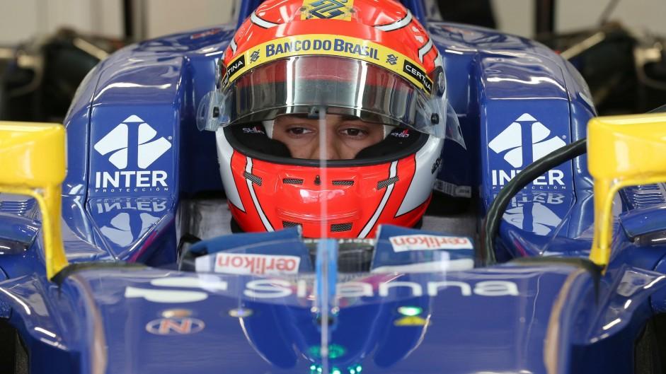 Felipe Nasr, Sauber, Autodromo Hermanos Rodriguez, 2015