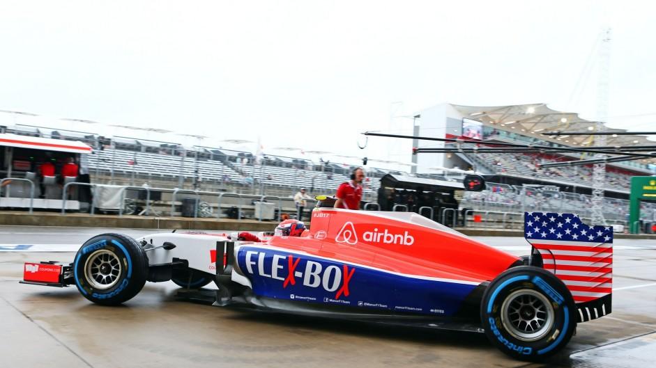 Alexander Rossi, Manor, Circuit of the Americas, 2015