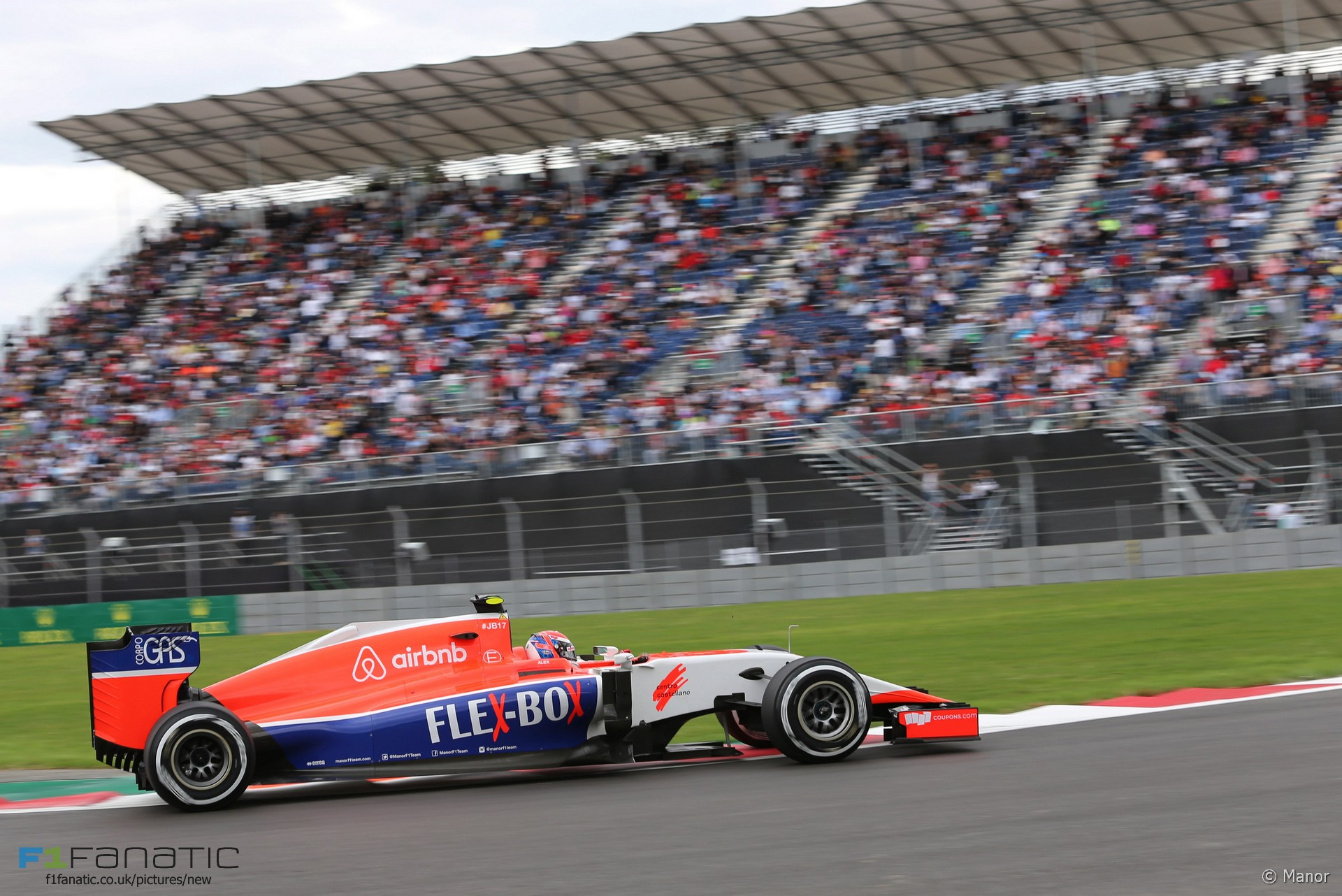 Alexander Rossi, Manor, Autodromo Hermanos Rodriguez, 2015