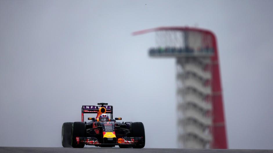 Rosberg leads Red Bulls in wet COTA practice