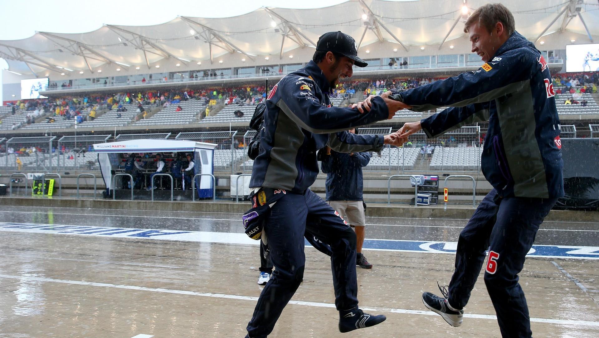 Daniel Ricciardo, Daniil Kvyat, Circuit of the Americas, 2015