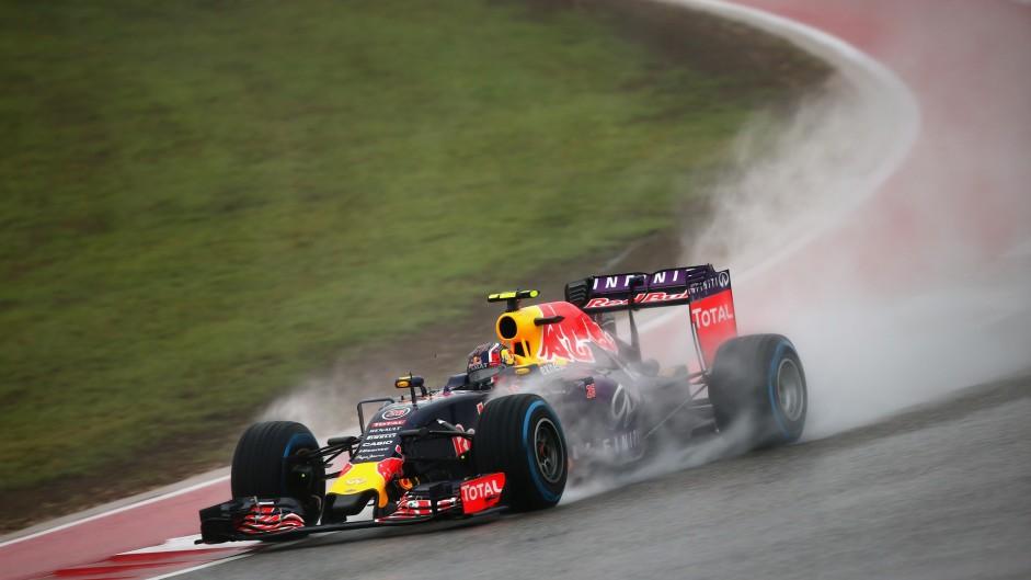 Daniil Kvyat, Red Bull, Circuit of the Americas, 2015