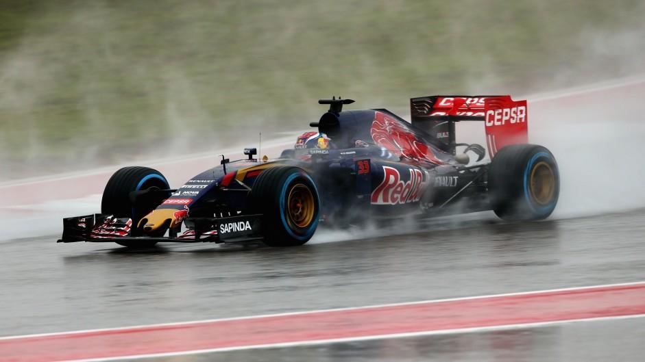 Max Verstappen, Toro Rosso, Circuit of the Americas, 2015
