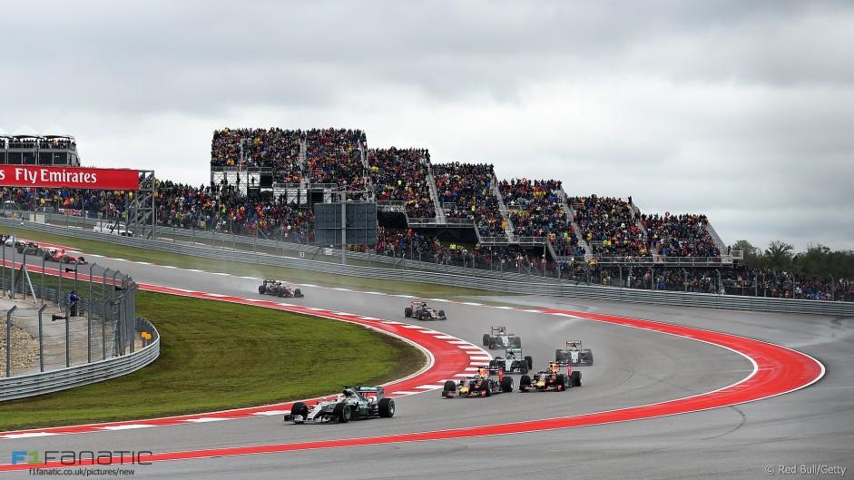 Start, Circuit of the Americas, 2015