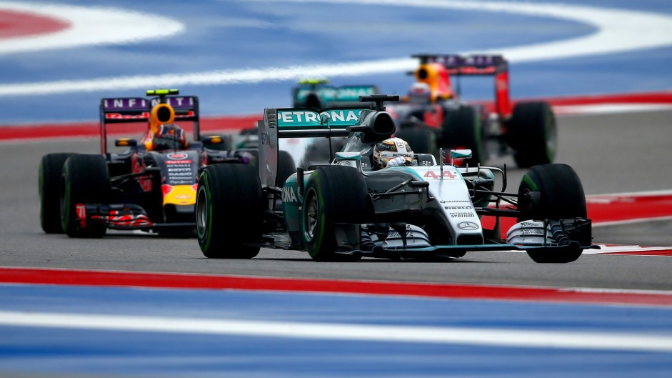 Top ten pictures from the 2015 United States Grand Prix
