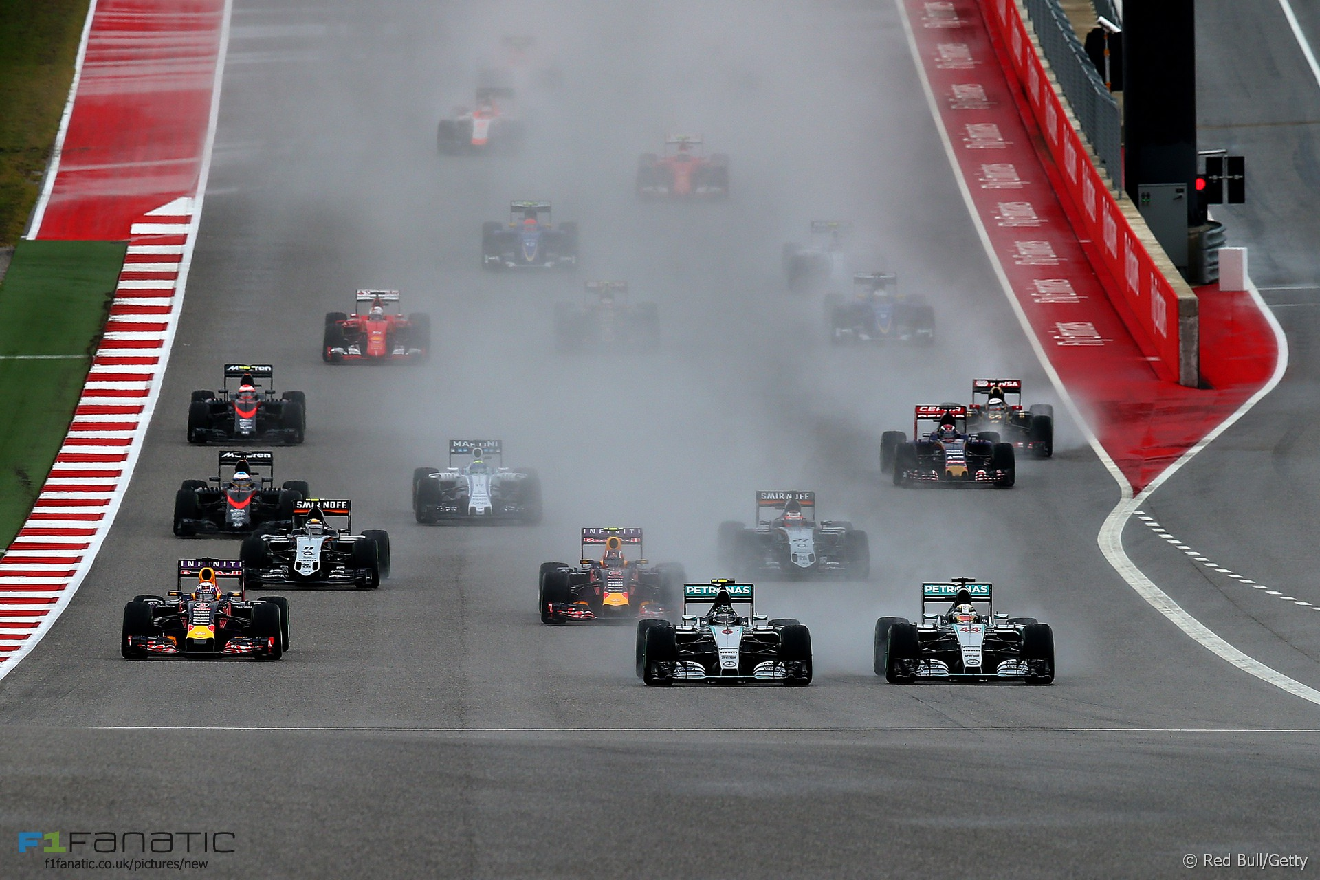 Start, Circuit of the Americas, 2015