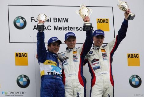 Sergio Perez, Nico Hulkenberg, Chris van der Drift, Formula BMW, Hockenheimring, 2005