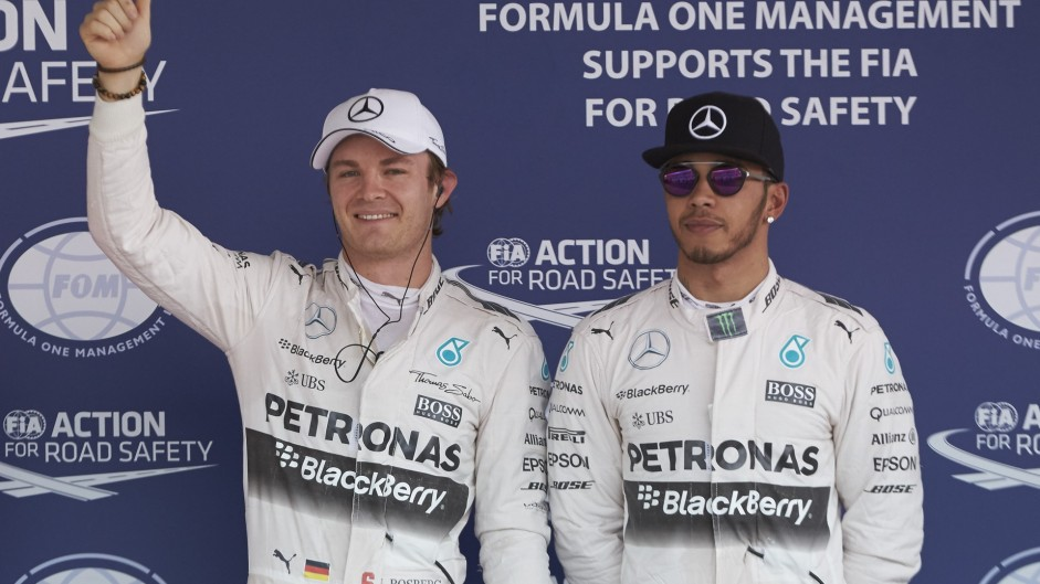 "Starting second ""probably better"" than pole – Hamilton"