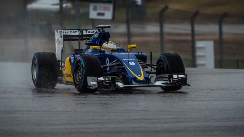 Marcus Ericsson, Sauber, Circuit of the Americas, 2015