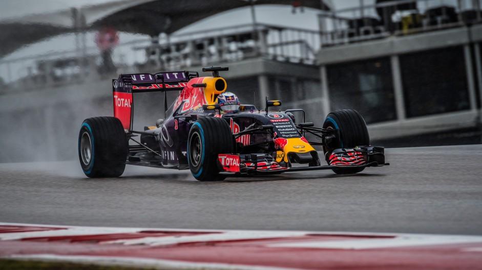 Daniel Ricciardo, Red Bull, Circuit of the Americas, 2015
