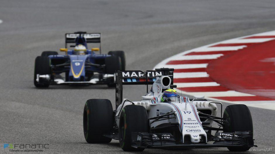 Felipe Massa, Williams, Circuit of the Americas, 2015