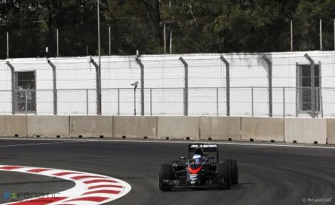 Fernando Alonso, McLaren, Autodromo Hermanos Rodriguez, 2015