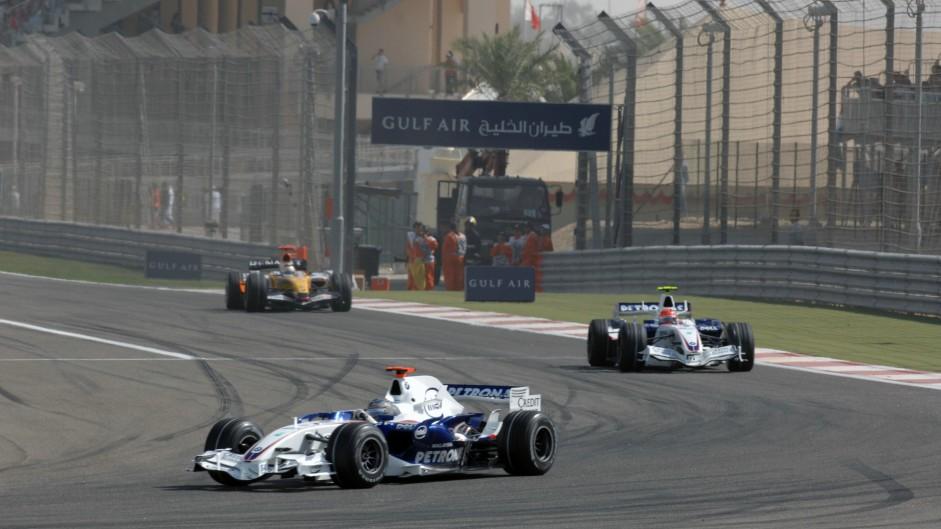 Nick Heidfeld, BMW Sauber, Bahrain, 2007