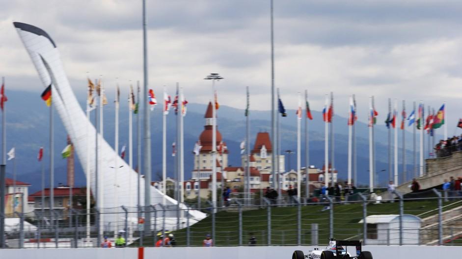 Valtteri Bottas, Williams, Sochi Autodrom, 2015