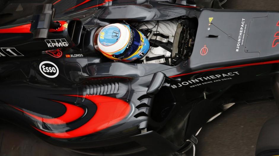Fernando Alonso, McLaren, Sochi Autodrom, 2015