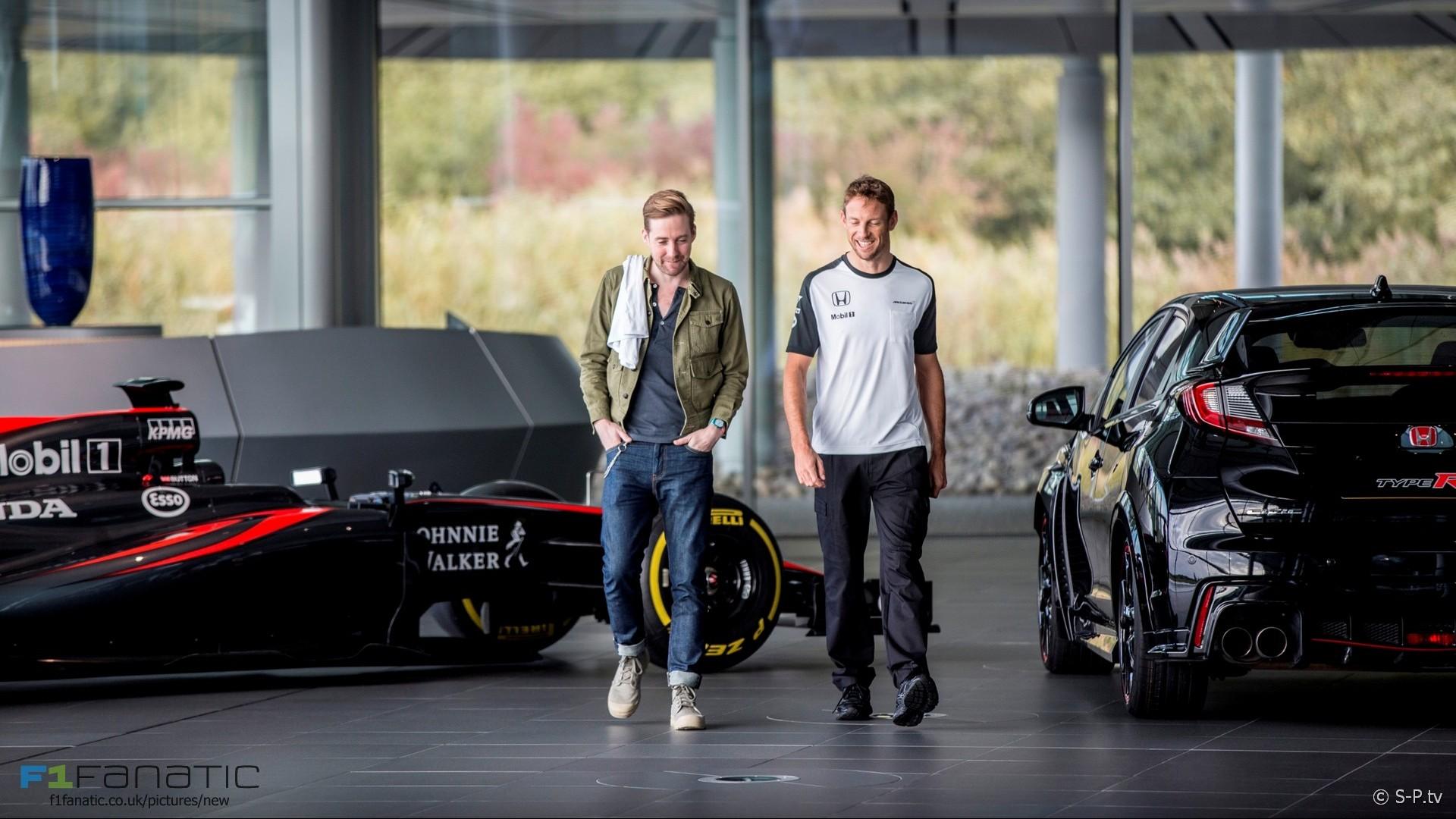 Ricky Wilson, Jenson Button, McLaren, 2015