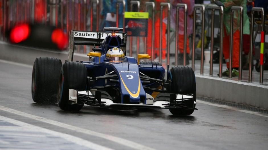 Marcus Ericsson, Sauber, Sochi Autodrom, 2015