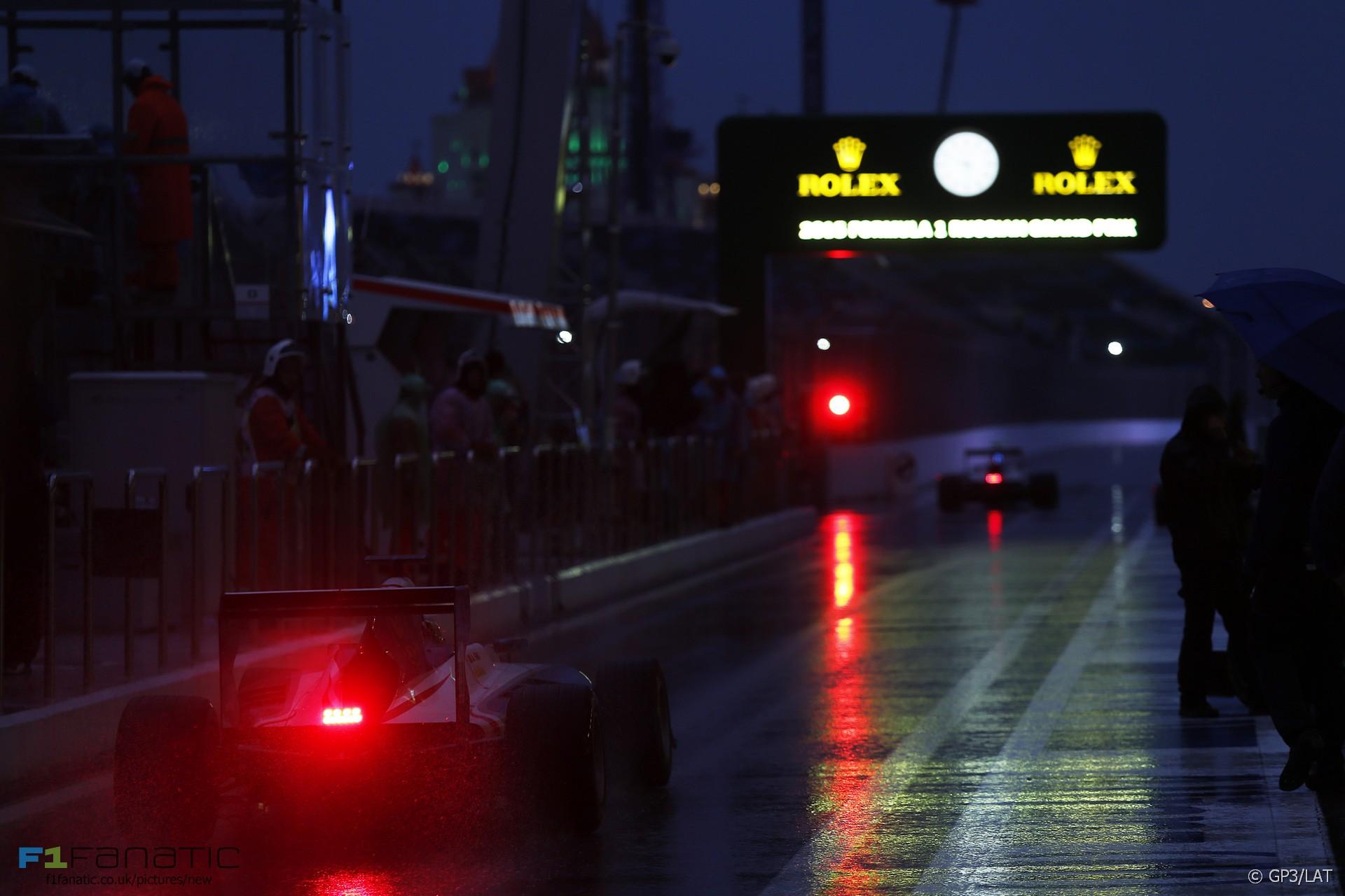 Matthew Parry, GP3, Sochi Autodrom, 2015
