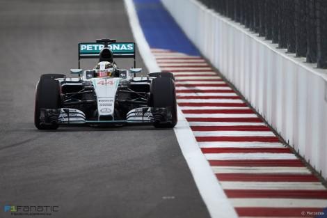 Lewis Hamilton, Mercedes, Sochi Autodrom, 2015