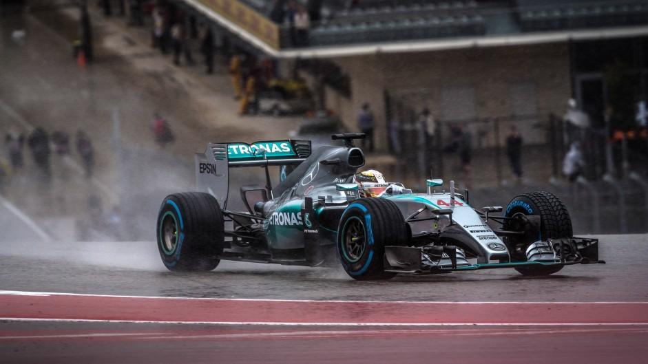 2015 United States Grand Prix grid