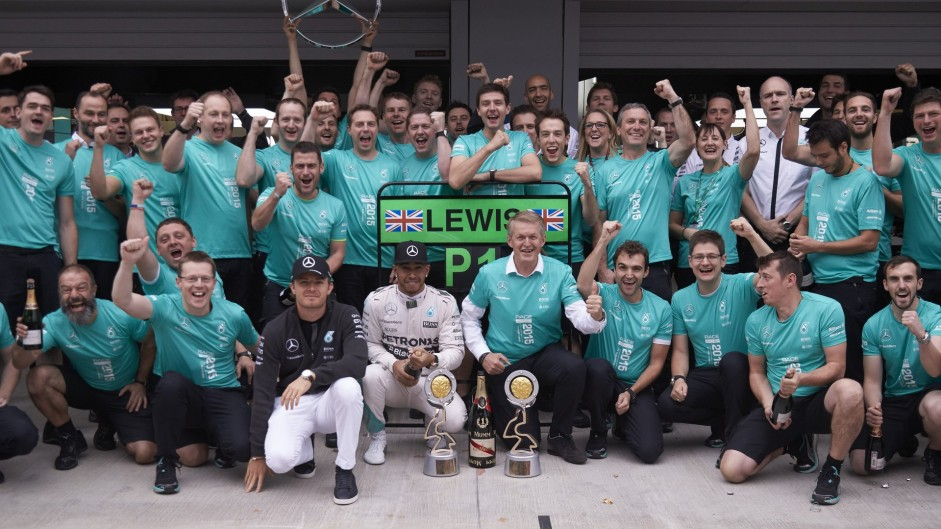 Mercedes raise the bar as their rivals come up short