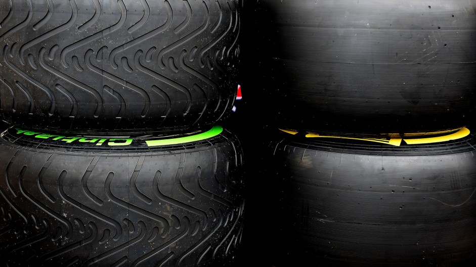 Intermediate and slick tyres, Circuit of the Americas, 2015
