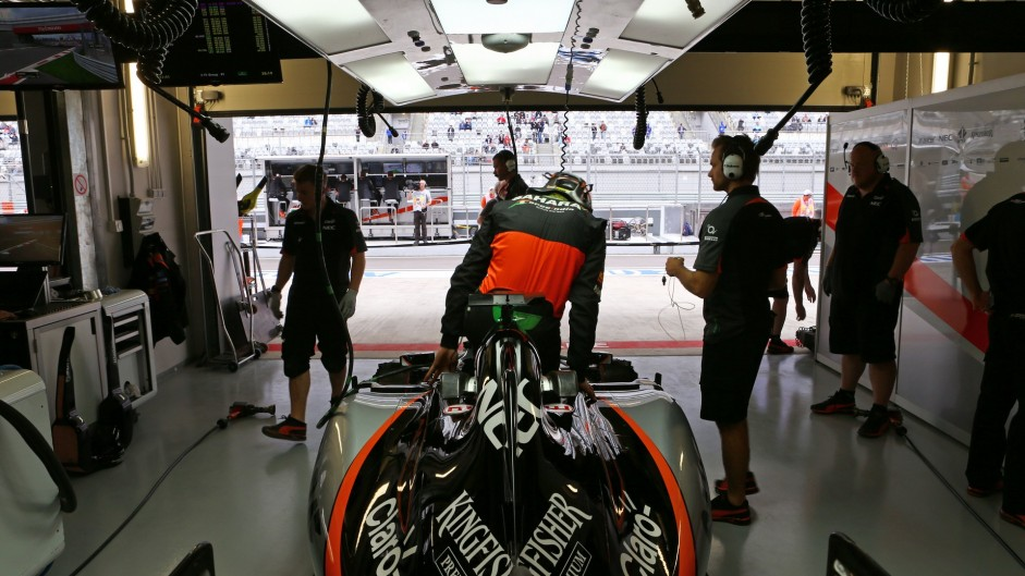 Nico Hulkenberg, Force India, Sochi Autodrom, 2015