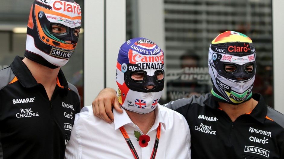2015 Mexican Grand Prix build-up in pictures