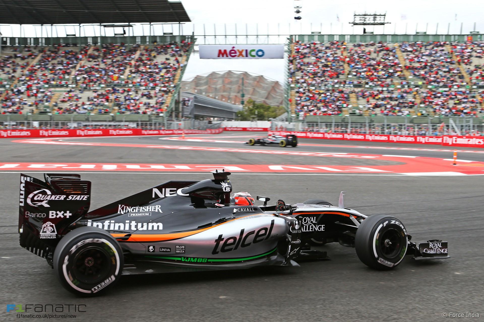 Nico Hulkenberg, Force India, Autodromo Hermanos Rodriguez, 2015