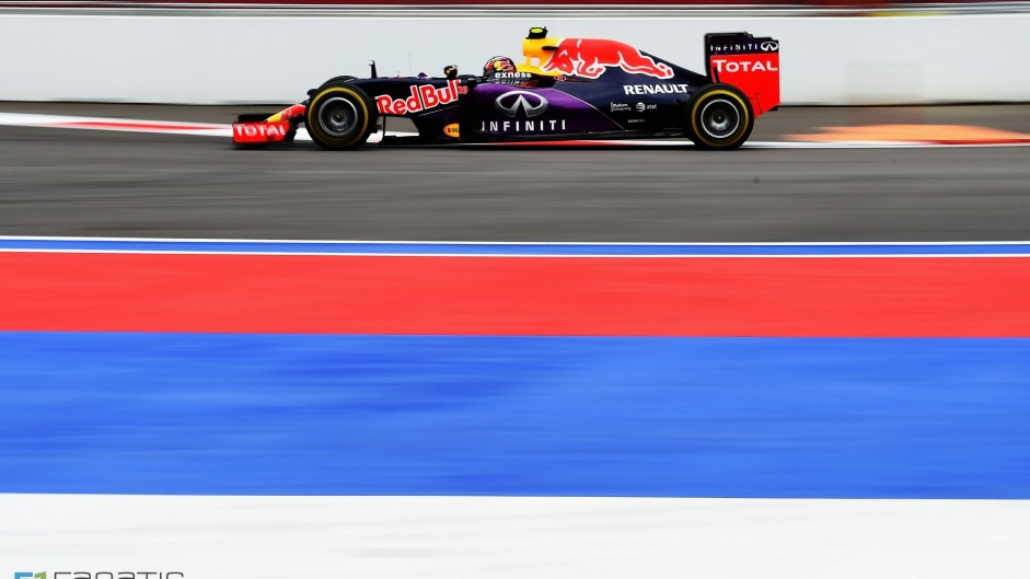 Daniil Kvyat, Red Bull, Sochi Autodrom, 2015