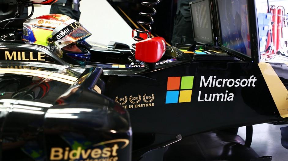 Pastor Maldonado, Lotus, Sochi Autodrom, 2015