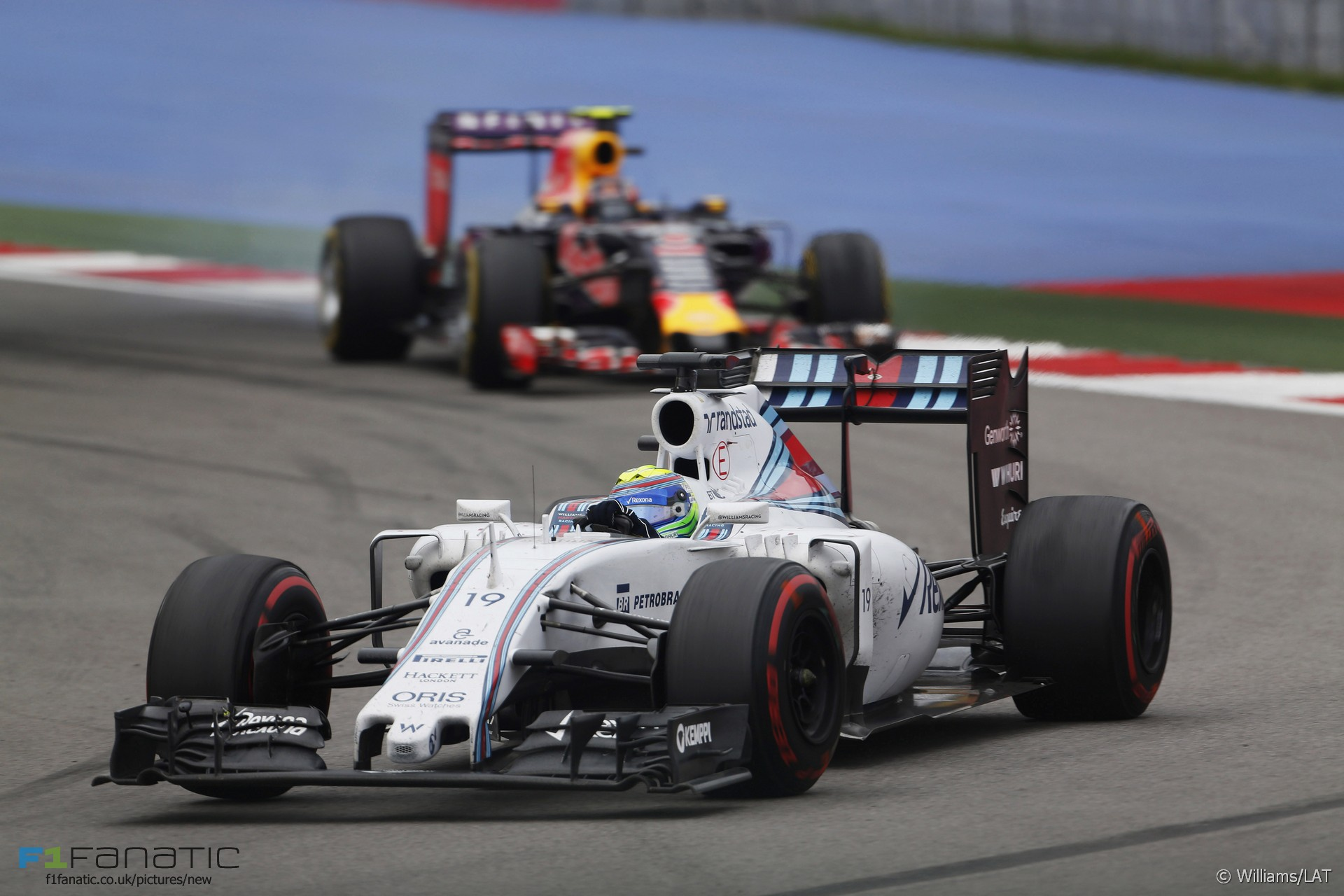 Felipe Massa, Williams, Sochi Autodrom, 2015