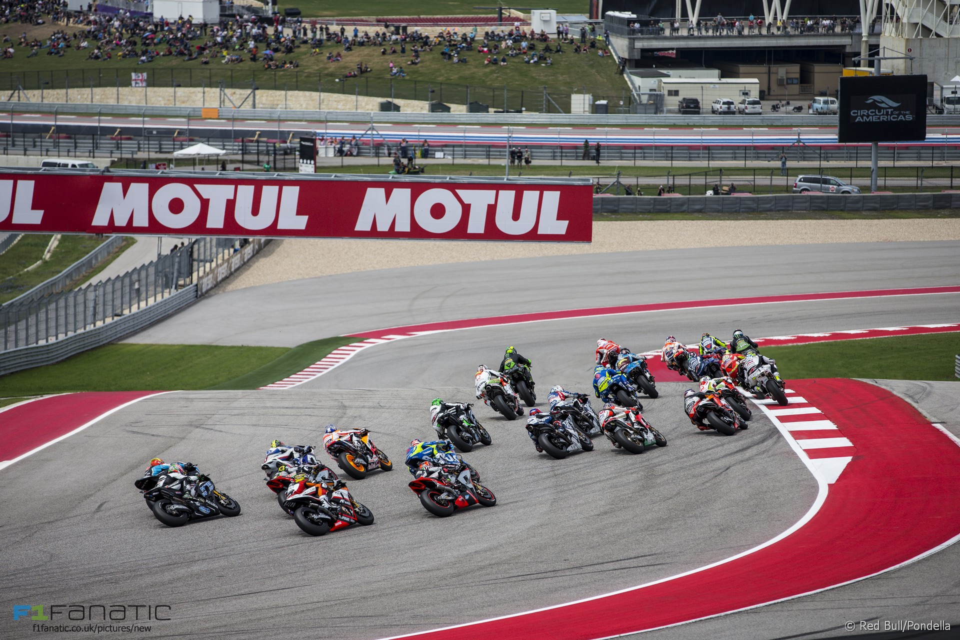 Start Moto Gp Circuit Of The Americas 2015 Racefans