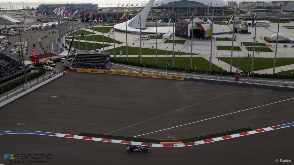 Drivers given new track limits rules for turn two