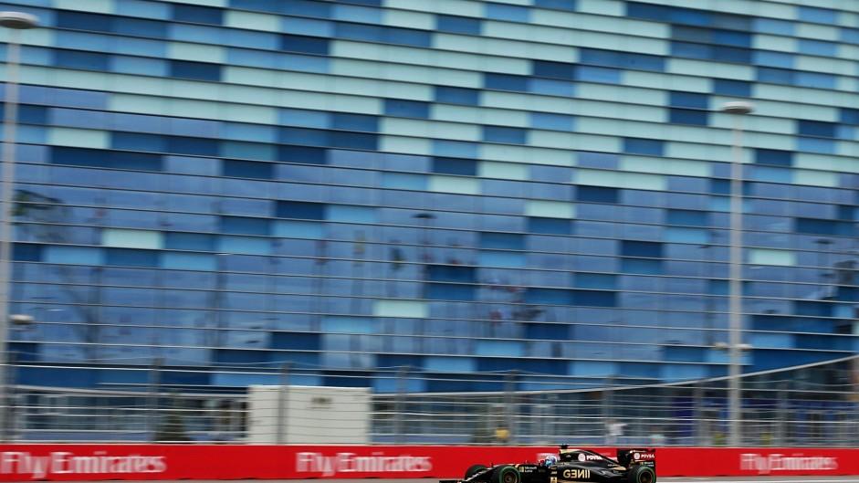 Jolyon Palmer, Lotus, Sochi Autodrom, 2015