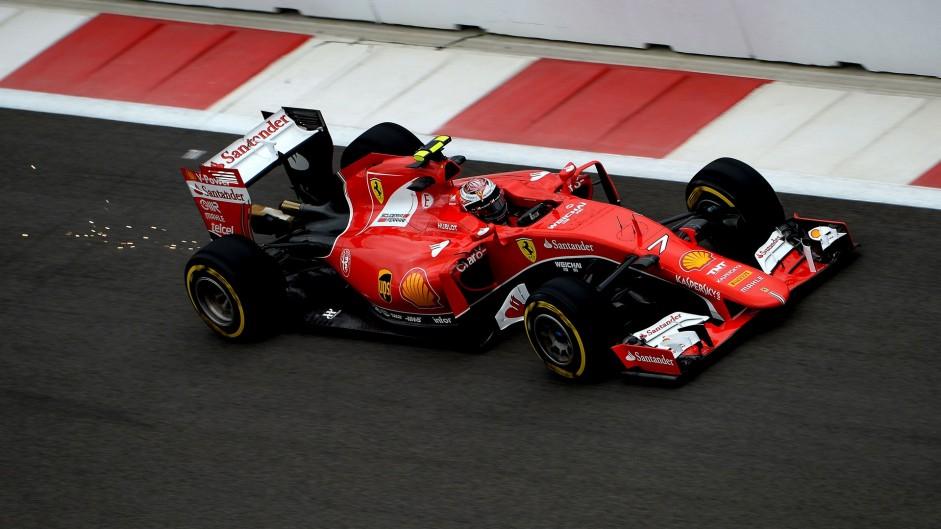 Kimi Raikkonen, Ferrari, Sochi Autodrom, 2015