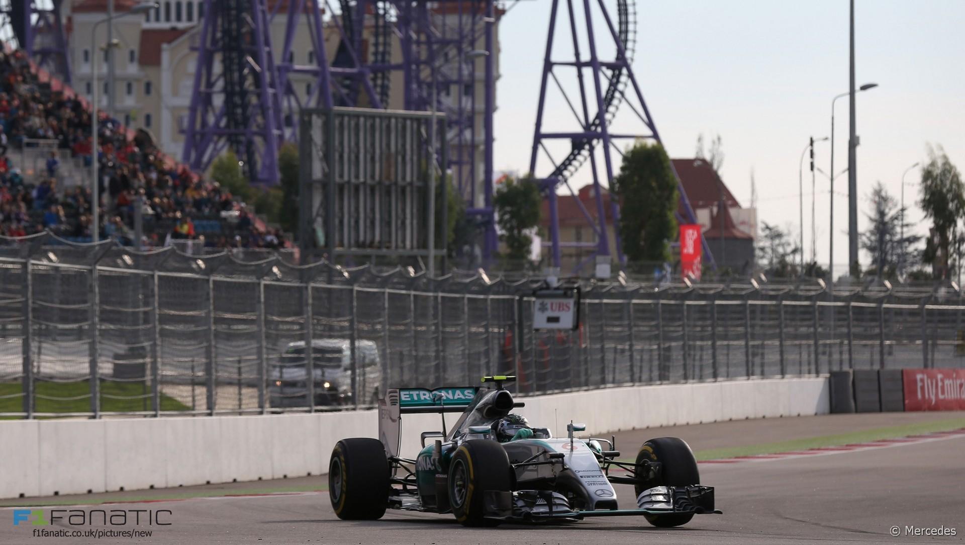 Nico Rosberg, Mercedes, Sochi Autodrom, 2015