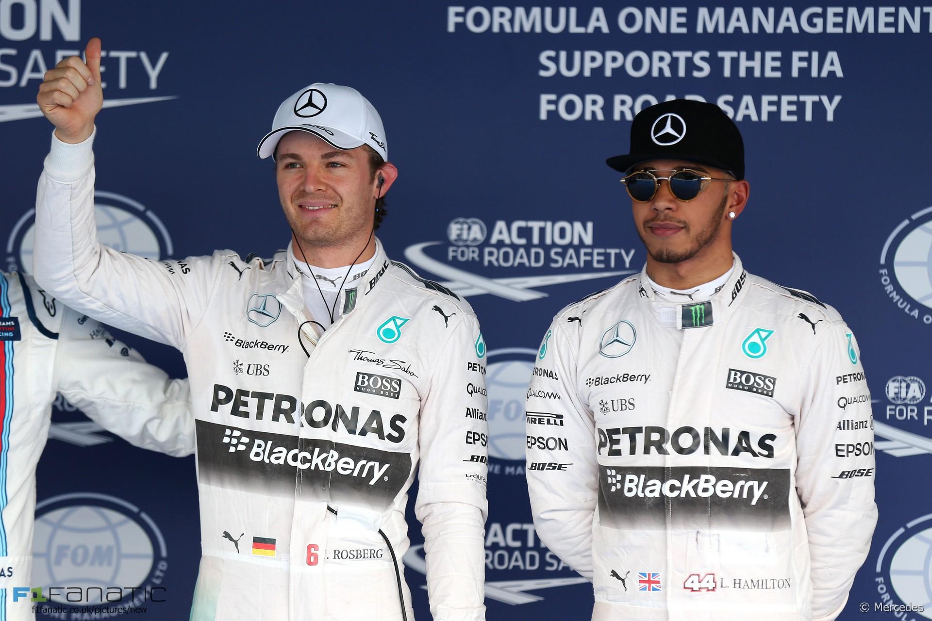 Nico Rosberg, Lewis Hamilton, Mercedes, Sochi Autodrom, 2015