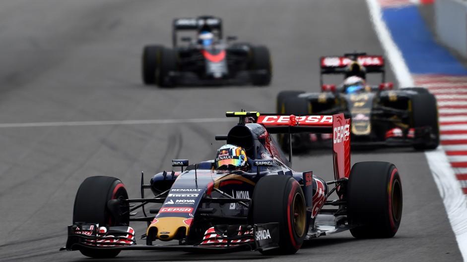 Carlos Sainz Jnr, Toro Rosso, Sochi Autodrom, 2015