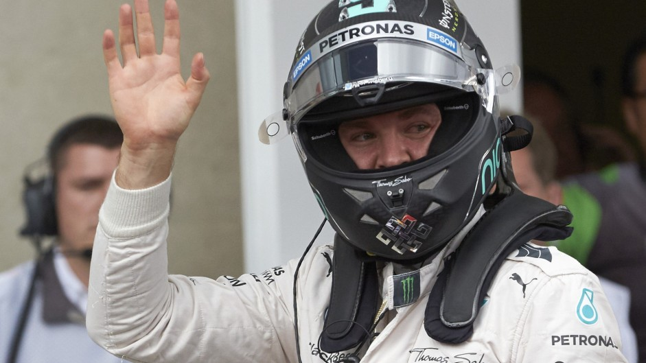 Pole the best place to be – Rosberg