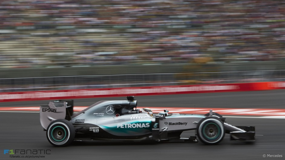 Lewis Hamilton, Mercedes, Autodromo Hermanos Rodriguez, 2015