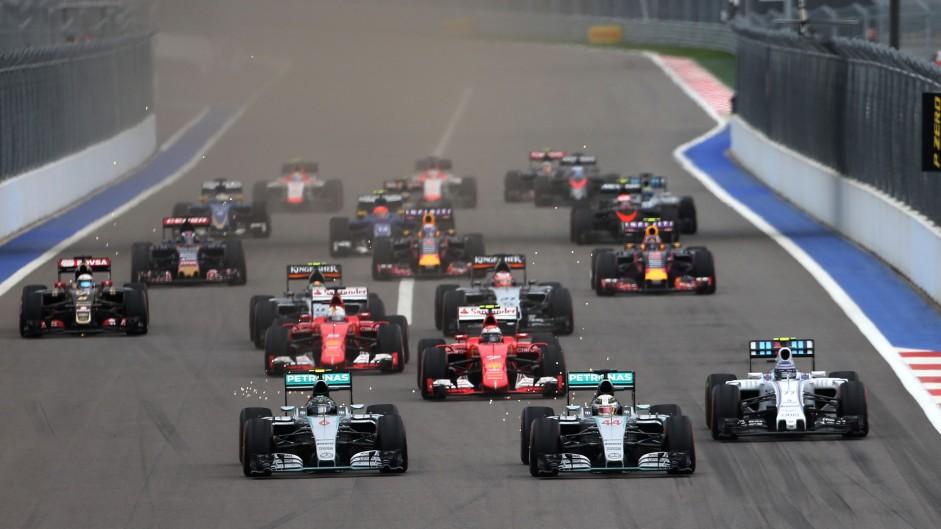 2016 Russian Grand Prix TV Times