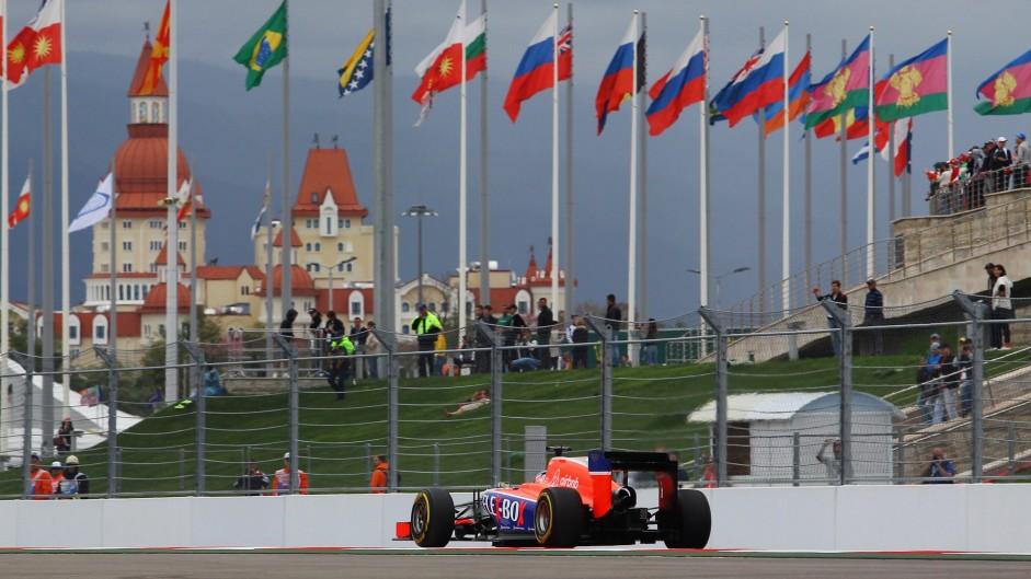 Will Stevens, Manor, Sochi Autodrom, 2015